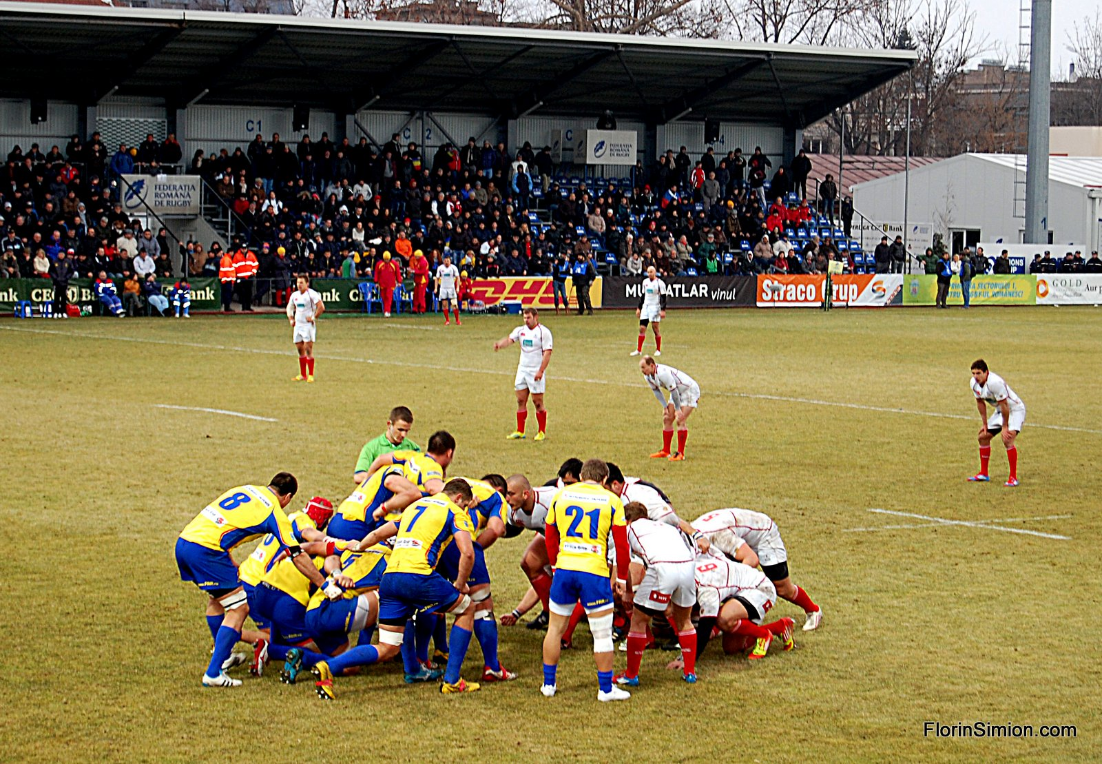 Rugby CEN Cup – Romania vs Rusia – 09 Februarie 2013