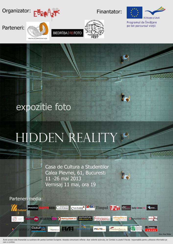 Hidden Reality – Expozitie 11-26 Mai – CCS Bucuresti