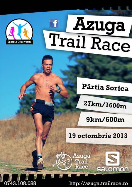 Invitatie la AZUGA TRAIL RACE – 19 Octombrie 2013