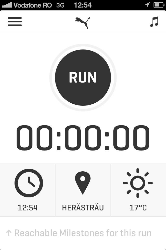 Aplicatia PUMATRAC – pentru pasionatii de alergare si fanii IPhone.