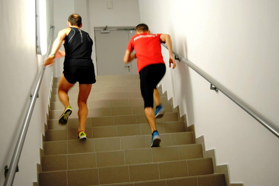 Alergare pe scari – SKY RUN – antrenamente oficiale
