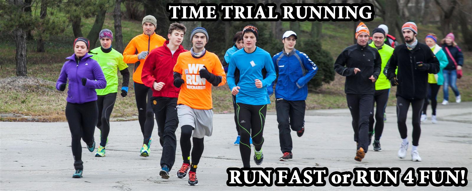 Revenirea continua! – Time Trial Running – Editia a XVI-a – 5 Decembrie
