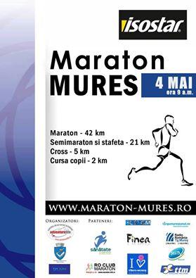 Invitatie la MARATON MURES – 4 Mai 2014