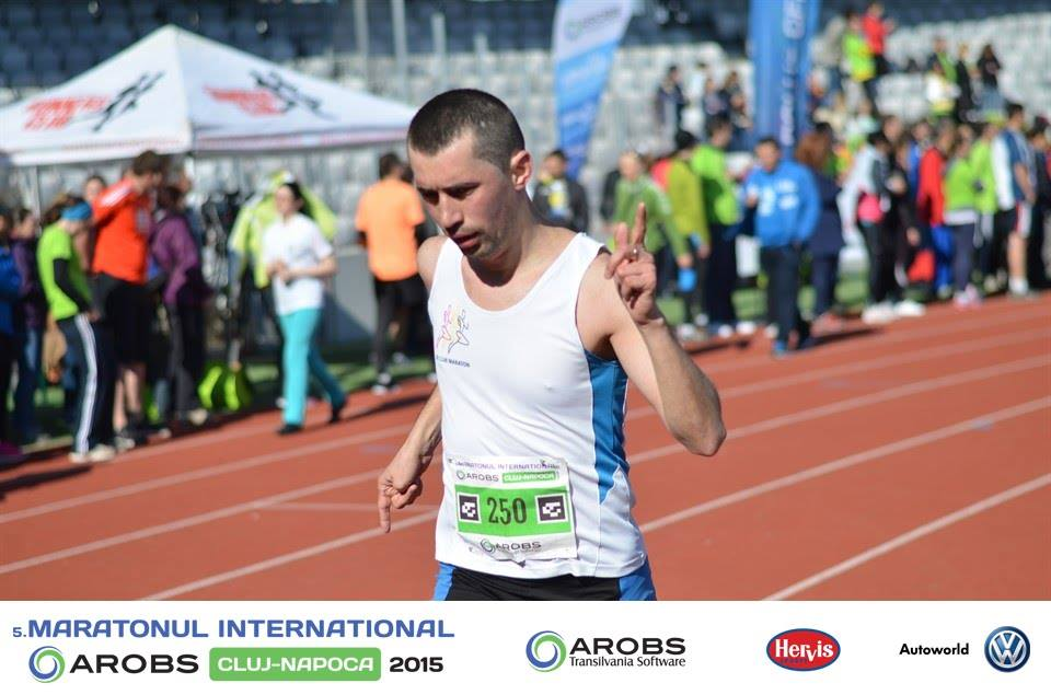 Maratonul International Cluj 2015 – Fuga ca la Cluj