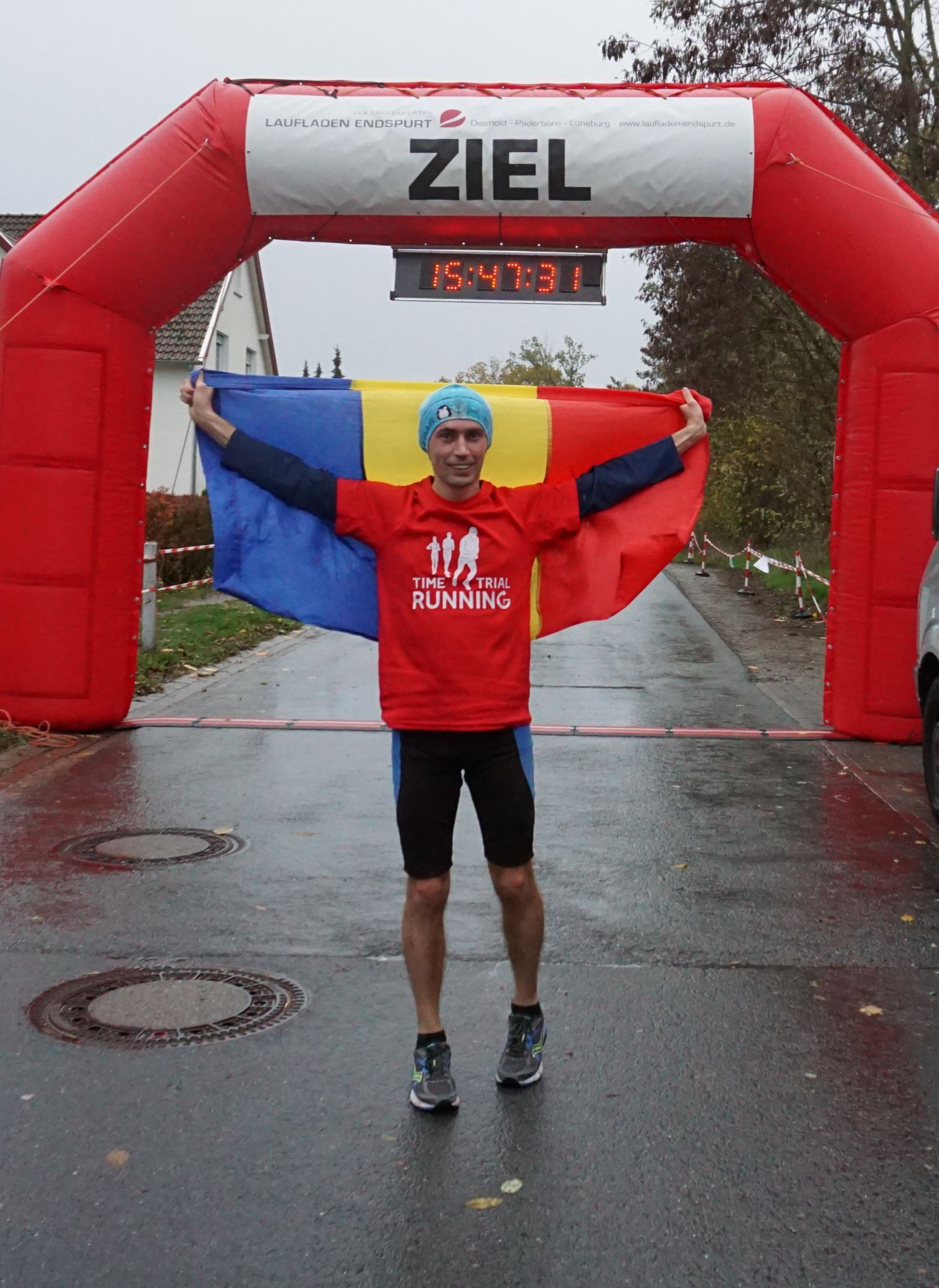 Detmolder Herbstlauf 2018 – Bad weather, fast race, new friend