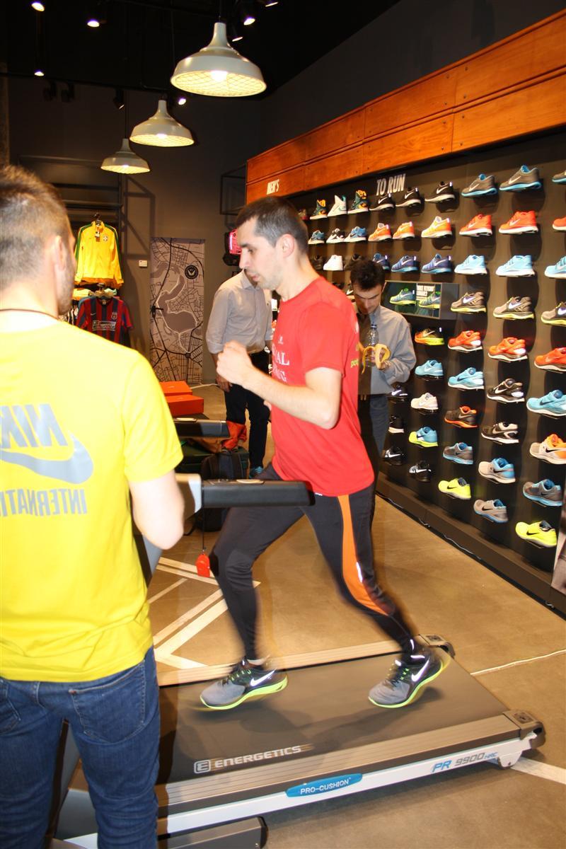 Testare incaltari de alergare Nike