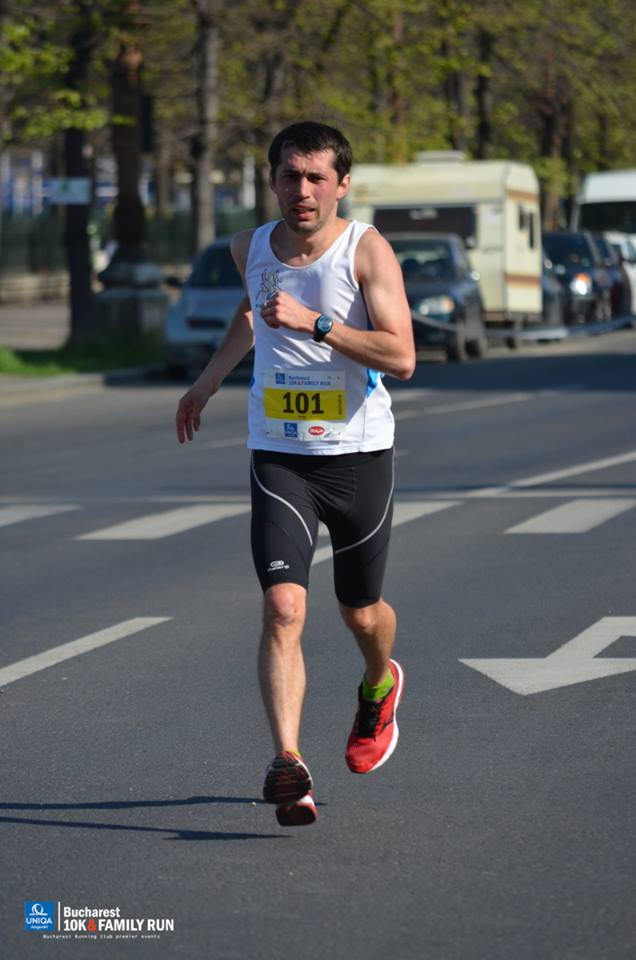 Bucharest 10K & Family Run – 10Km…tratament pentru entorsa