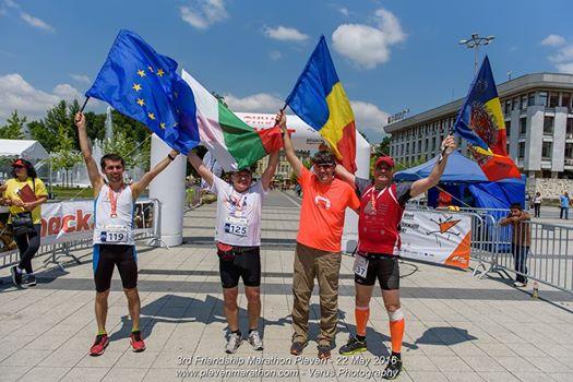 Pleven Friendship Marathon 2016 – Cel mai greu pas catre 100 de maratoane