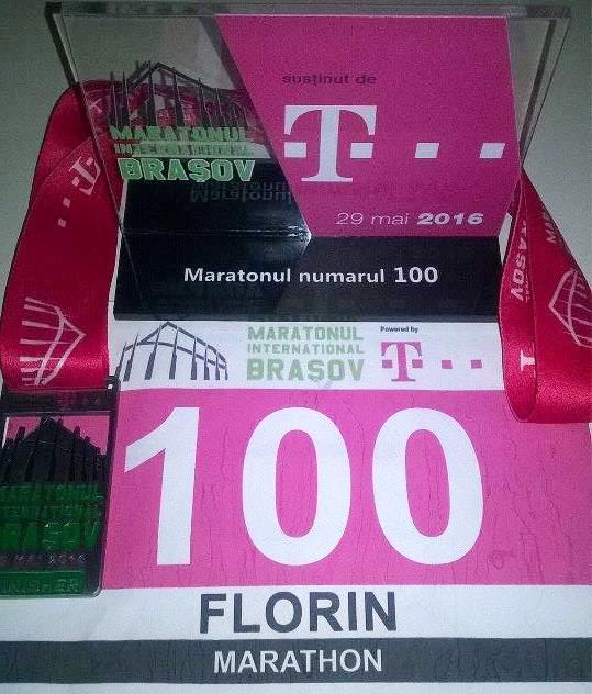 Lista primelor 100 de maratoane