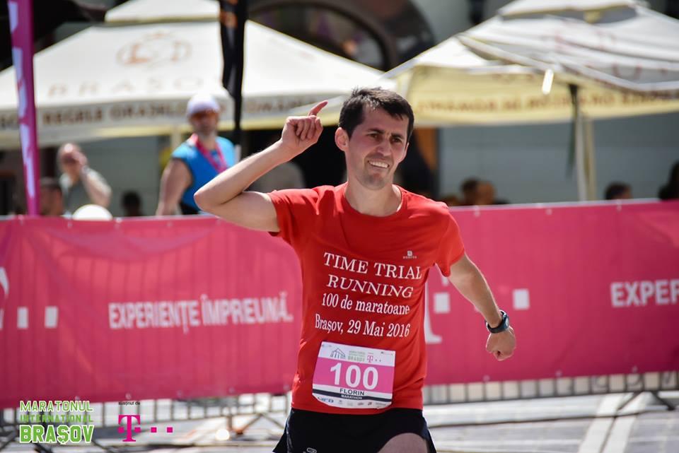 Al 100-lea Maraton (Maratonul International Brasov – 29 Mai 2016)